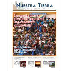 Periódico Nuestra Tierra Nº 14: La sequía pone a prueba la seguridad con soberanía alimentaria