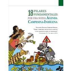 18 Pilares Fundamentales para una agenda campesina-indígena