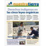 Periódico Nuestra Tierra Nº 3: Derechos indígenas en las cinco leyes orgánicas