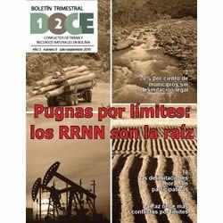 Boletín Trimestral DOCE N° 9: Conflictos de tierra y recursos naturales en Bolivia
