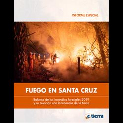 Fuego en Santa Cruz 2019