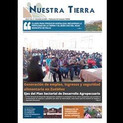 Periódico Nuestra Tierra Nº 21: Generación de empleo, ingresos y seguridad alimentaria