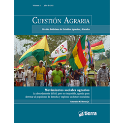 Cuestión Agraria Nº 5: Movimientos Sociales Agrarios
