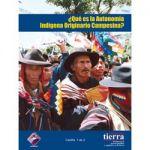 ¿Qué es la Autonomía Indígena Originario Campesina?