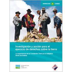 Investigación y acción para el ejercicio de derechos sobre la tierra