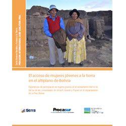 El acceso de mujeres jóvenes a la tierra en el altiplano de Bolivia
