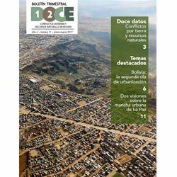 Boletín Trimestral DOCE N° 11: Conflictos de tierra y recursos naturales en Bolivia