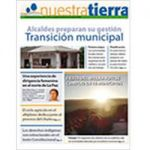 Periódico Nuestra Tierra Nº 1: Transición municipal