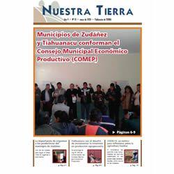 Periódico Nuestra Tierra Nº 18: Municipios de Zudáñez y Tiahuanacu conforman el Consejo Municipal Económico Productivo