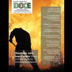 Boletín DOCE N° 18: Chiquitanía, entre fuego y sequía