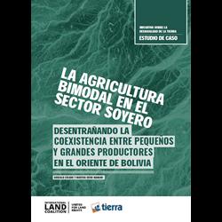 La agricultura bimodal en el sector soyero