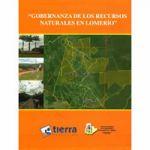Gobernanza de los recursos naturales en Lomerio